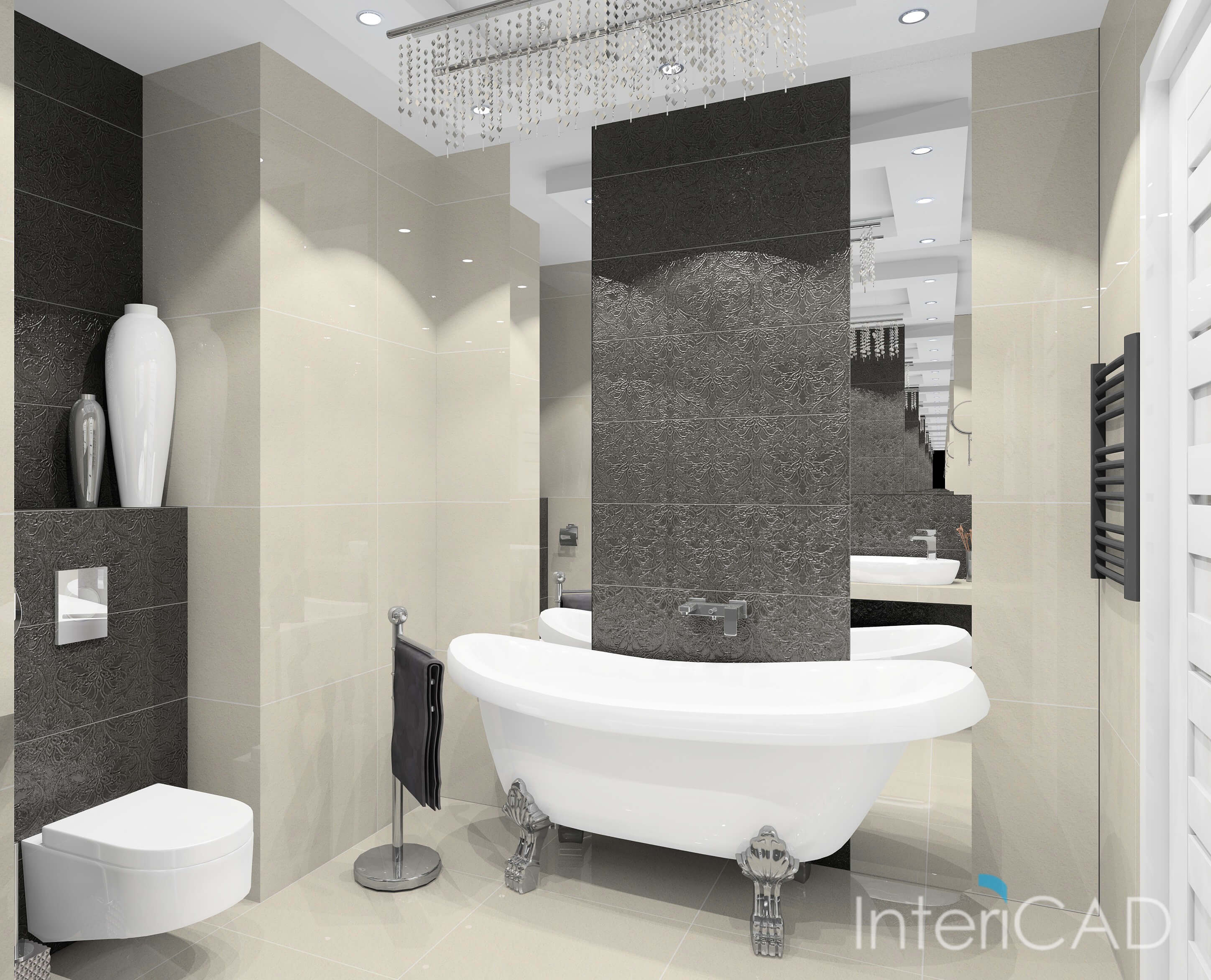 projets 3d salle de bain intericad. Black Bedroom Furniture Sets. Home Design Ideas